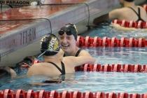 Emily Escobedo breaks Towson pool record