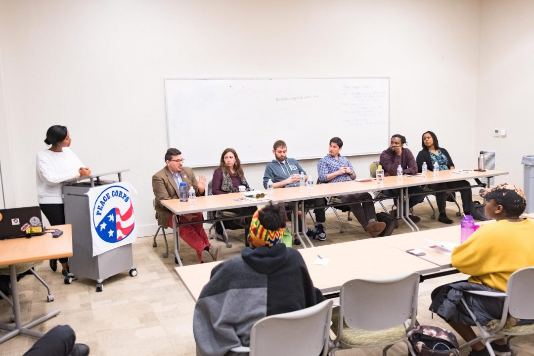 Peace Corps panelists share stories, wisdom and advice