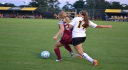 Women's Soccer's up and down defense
