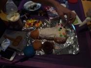 Contraceptive cakes