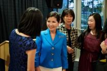 Photographs — Yumi Hogan visits UMBC