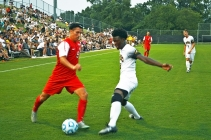 Men's soccer keeps the ball rolling