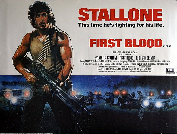 """Rambo: First Blood"" draws first blood"