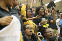 Students, parents show pride at retriever rally