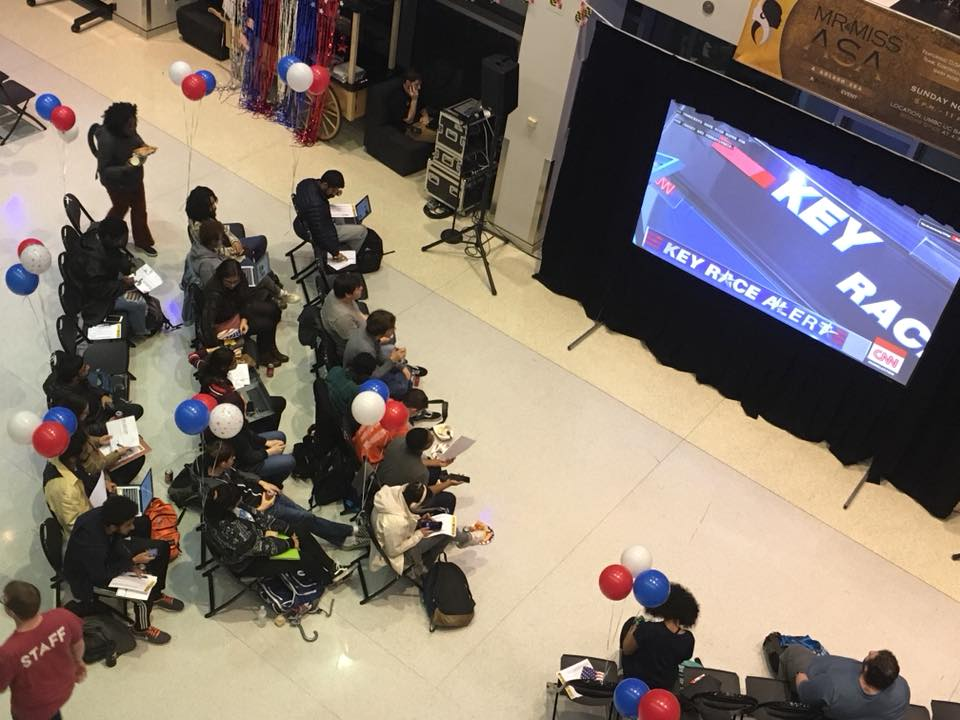 Election Night Extravaganza aims to get students politically and civically involved
