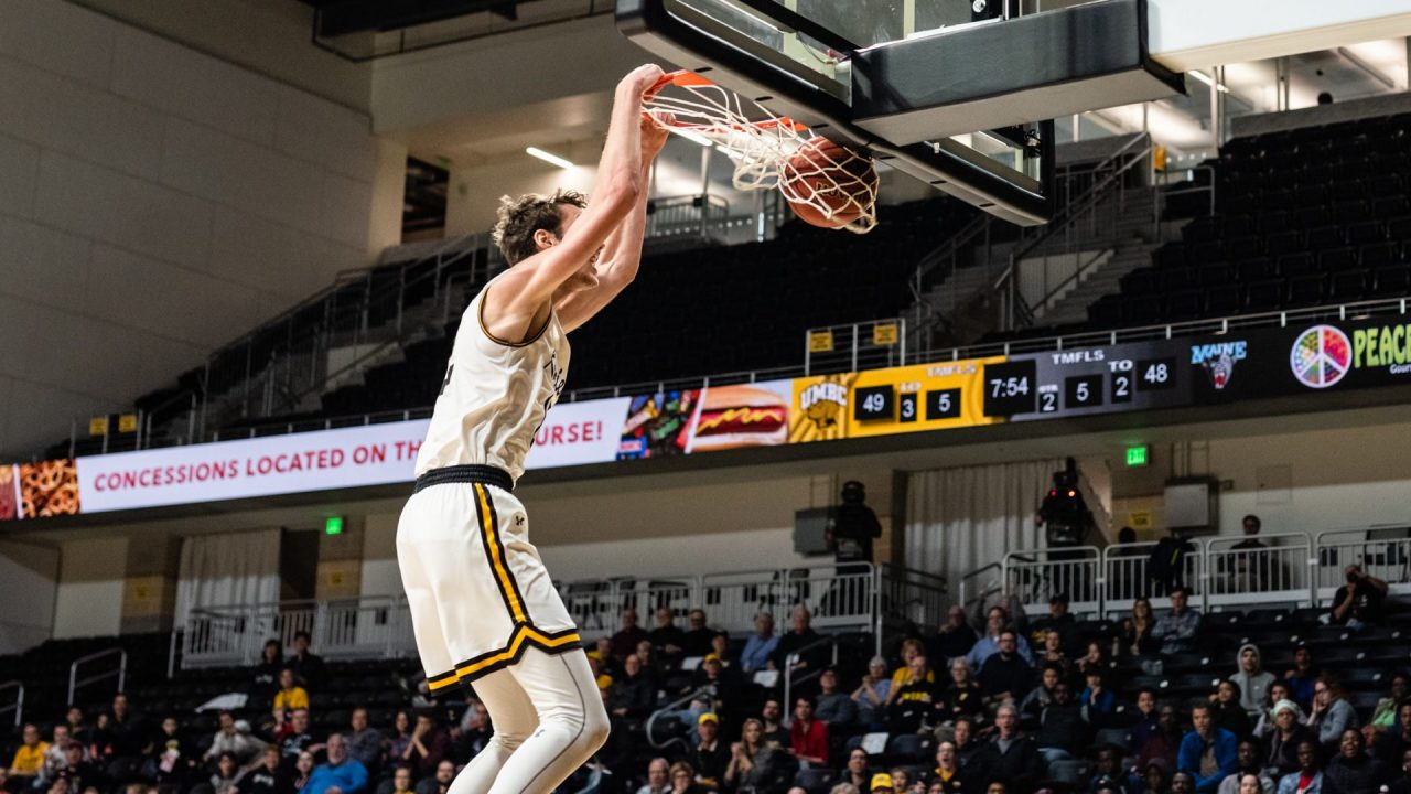 Retrievers comeback against Maine to open conference play