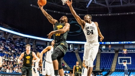 Men's basketball drops heartbreaker to Hartford