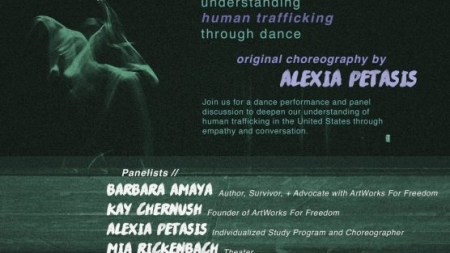 Senior's capstone project focuses on understanding human trafficking through dance