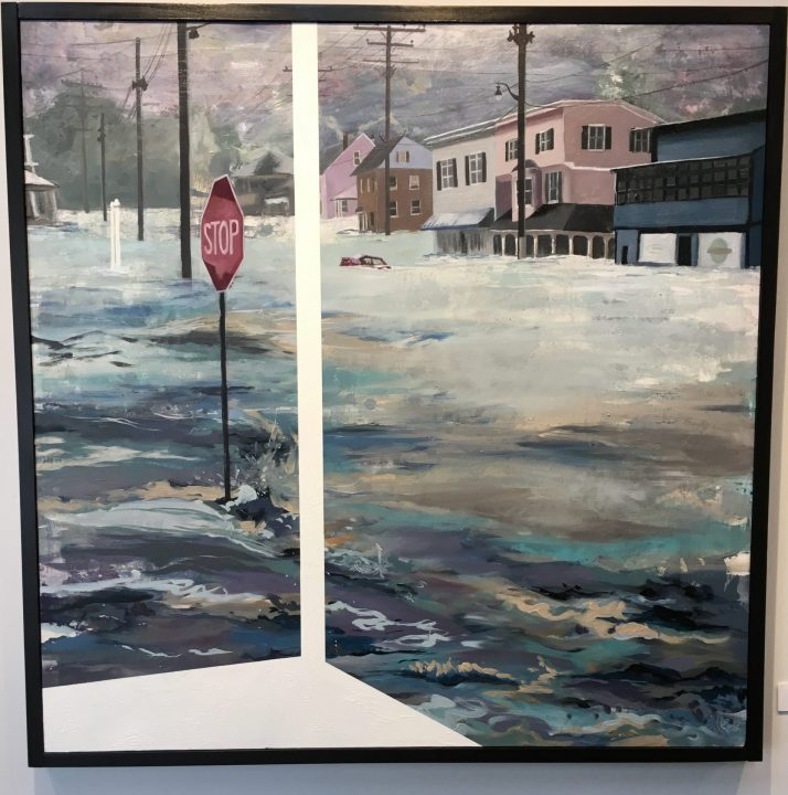 """""""Fire and Flood"""" – a local artist's response to natural disasters"""