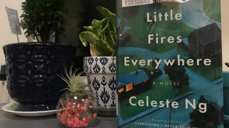 "Celeste Ng deLIGHTS readers with ""Little Fires Everywhere"""