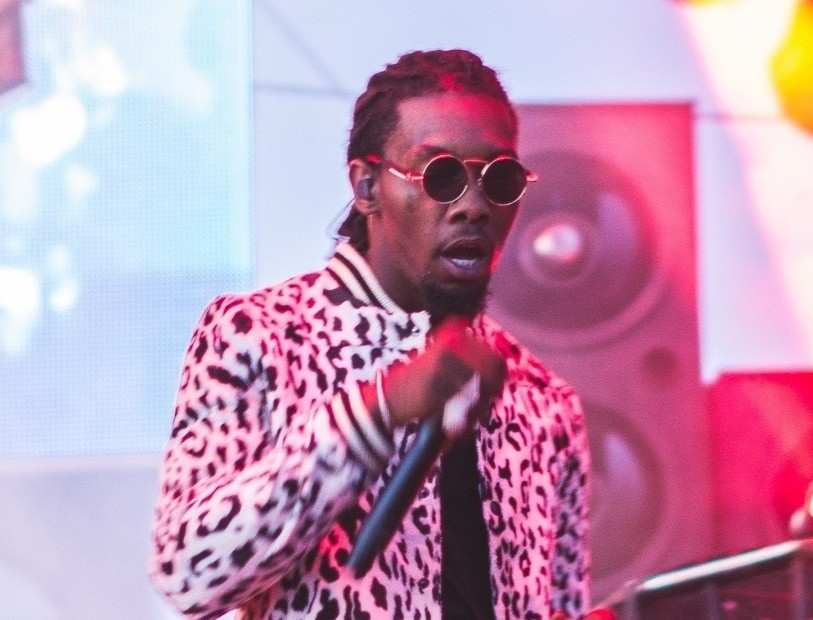 "Offset stands out with ""FATHER OF 4"""