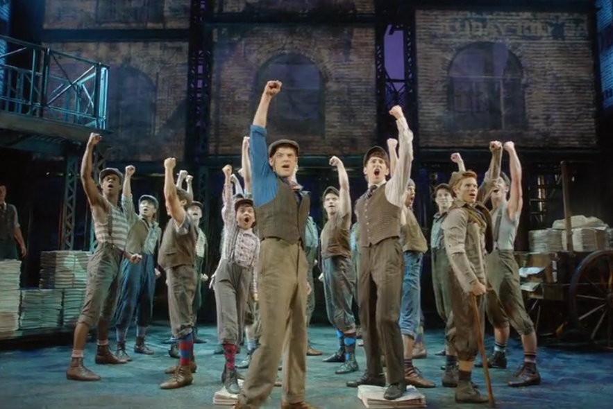 Newsies jumps from Broadway to Netflix