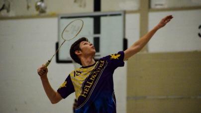"Mitchell ""Misha"" Betenbaugh makes badminton challenges his social racket"