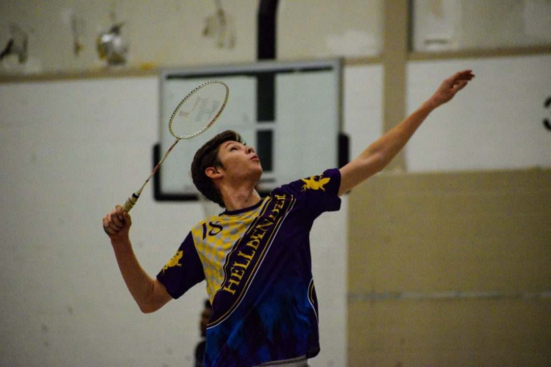 "Mitchell ""Misha"" Betenbaugh makes badminton challenges his social racket"