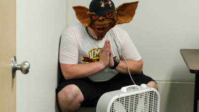 Facility gremlin retires due to overwork