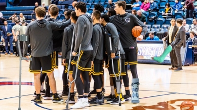 Men's basketball tries to kill injury bug