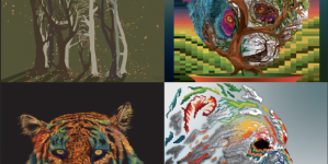 PAWS FOR ART: Giving endangered animals a voice through digital art
