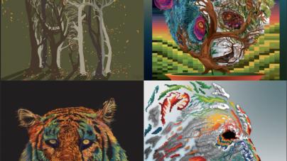 PAWS FOR ART: Giving endangered animals a voice through digital art