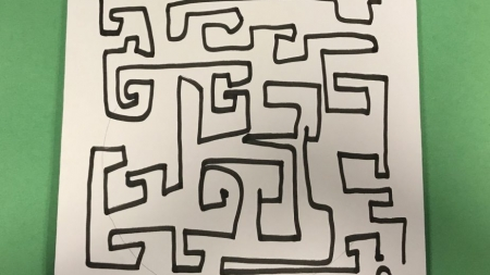 Giant maze on campus to promote problem-solving skills