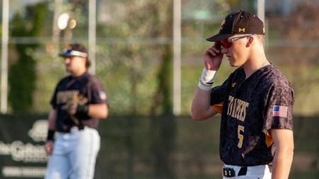 UMBC baseball battles George Washington