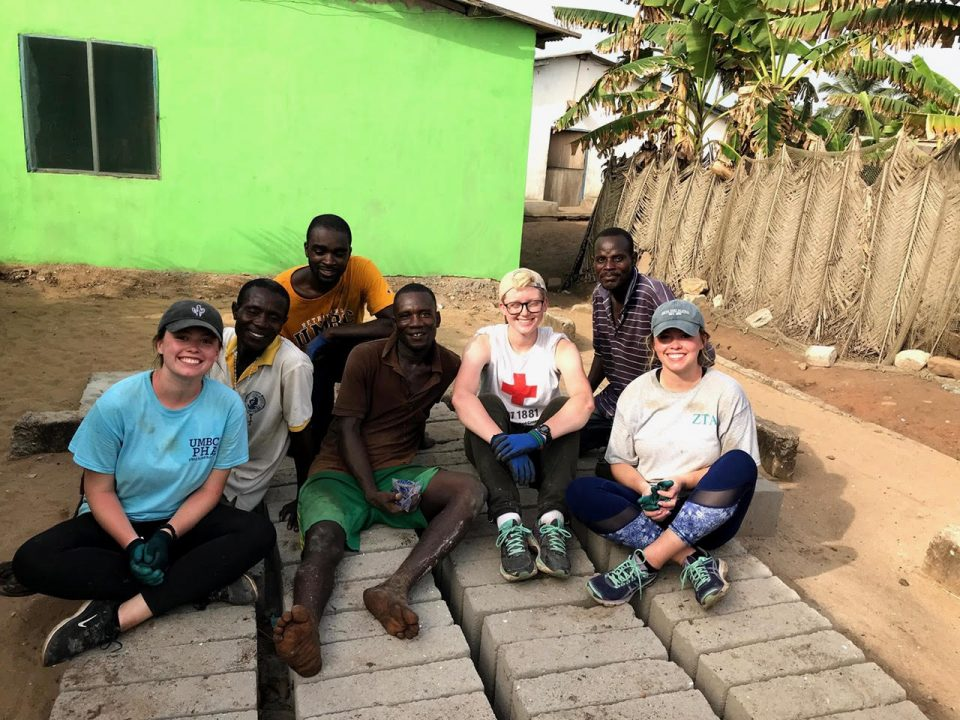 UMBC Global Brigades extends to Ghana