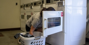 Residential Life unveils new amenity for on-campus students: free laundry