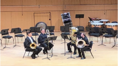 The ultimate bash of brass brilliance