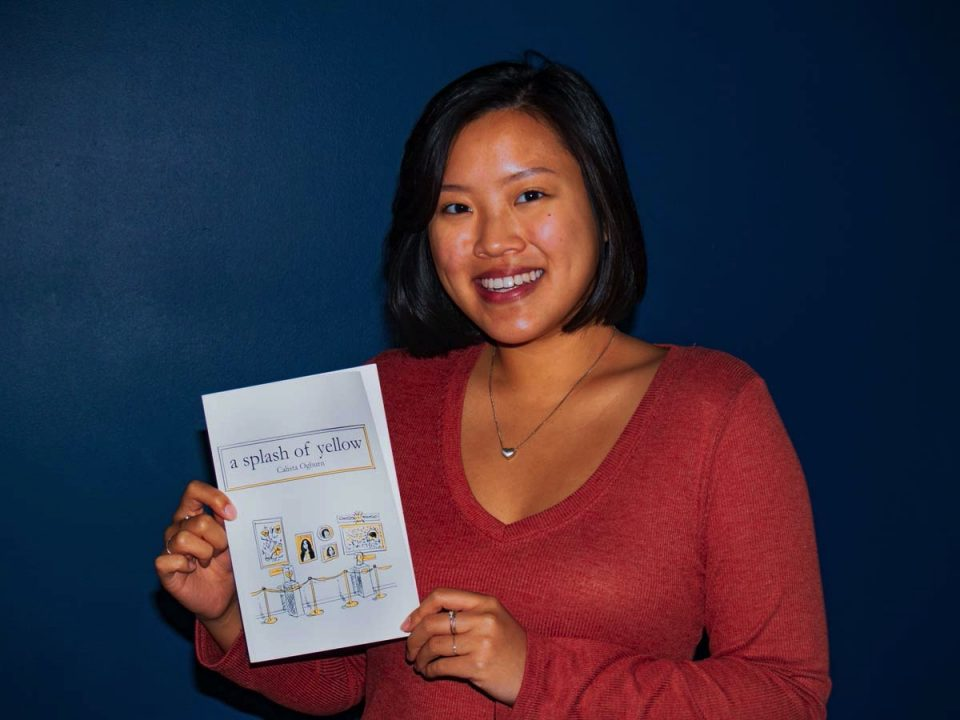 Junior UMBC student self-publishes book of poetry