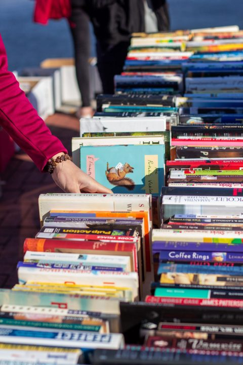 The Baltimore Book Festival: home to UMBC students' poetry
