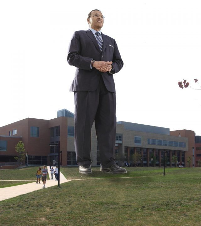 UMBC welcomes the world's tallest statue