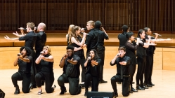 Cleftomaniacs make a cappella history at UMBC