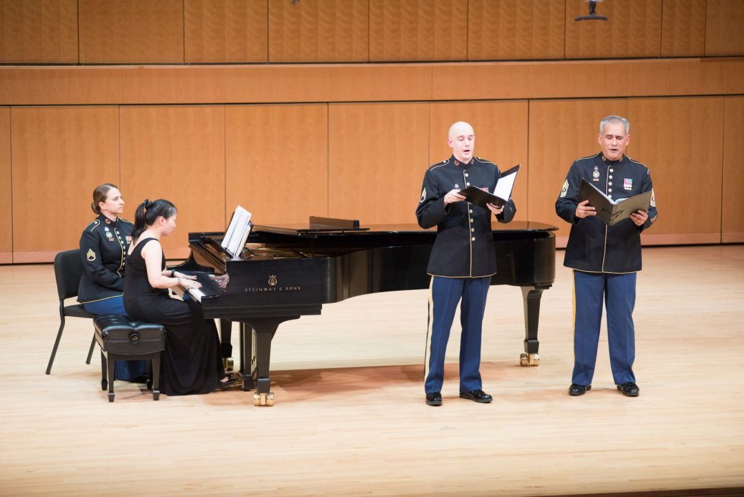 U.S. Army Field Band sheds light on our military's artistic side