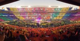 A forgotten Super Bowl halftime show
