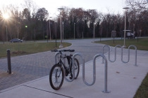 Bike rack shortage leaves UMBC riders stranded