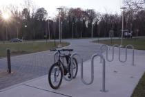 Bike rack shortage leaves UMBC riders stranded