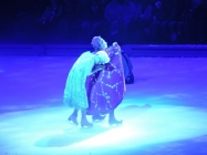 Letting it go at Disney on Ice