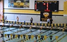 UMBC men's and women's aquatic teams nab victories at home