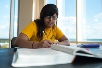 Staying on campus improves work ethic