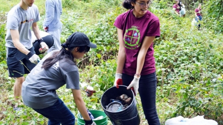 Spring cleaning starts a semester early for Environmental Task Force
