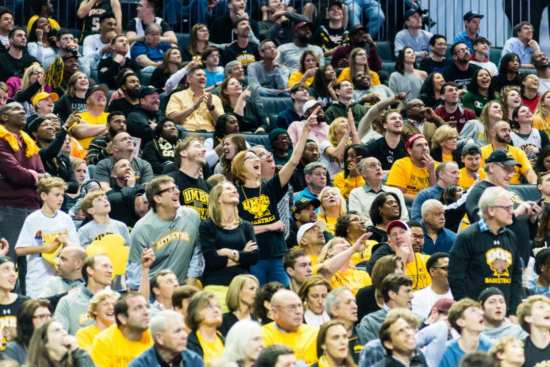 Retriever fans cheering proudly at the Big Dance