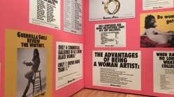 'Guerilla Girls' defy standards at the BMA