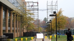 Construction near The Commons