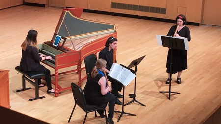 Collegium Musicum takes listeners back to ancient Rome