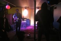 Election eve at Joe Squared: less politics, more music