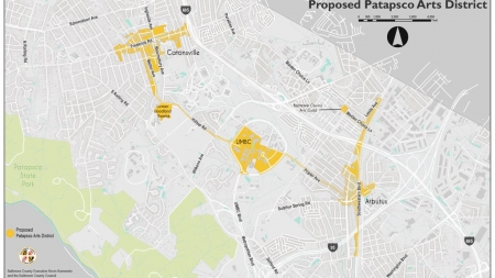 UMBC to join the proposed Patapsco Arts and Entertainment District