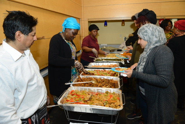 The Department of Africana Studies gives students a taste of African cuisine, music and culture