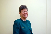 Undergraduate research director Janet McGlynn retires