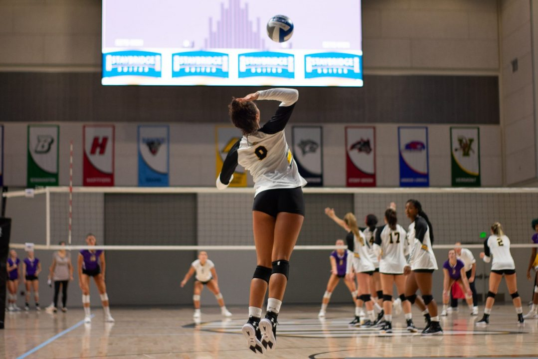 UMBC volleyball debuts in new Event Center