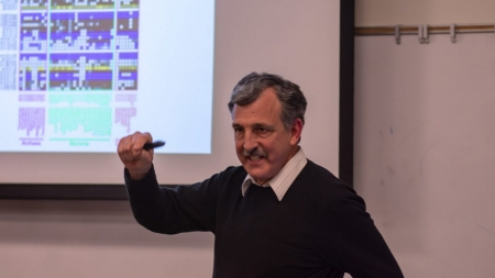Science meets religion: Mark Lamontia and the origin of life