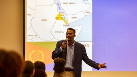 Dawit Habte discusses life as a refugee in new book